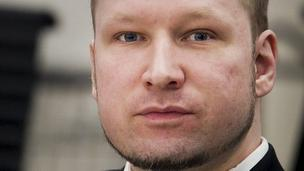 Anders Behring Breivik. 16 April 2012