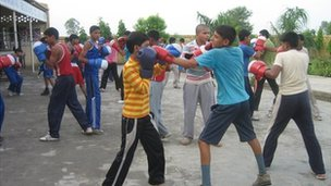 Boxing school in Haryana