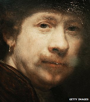 Portrait of the artist Rembrandt