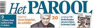 Het Parool front page