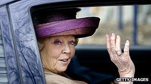 Former Dutch Queen Beatrix