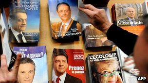 French election leaflets