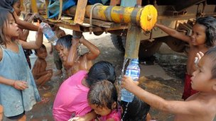 Many children in Cambodia still don't have access to clean water