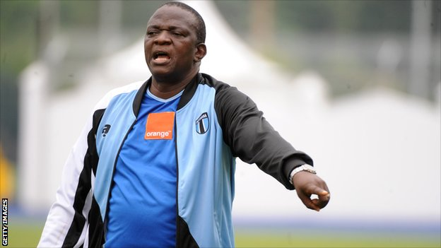 Botswana coach Stanley Tshosane