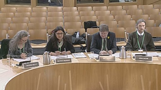 The Welfare Reform committee take evidence