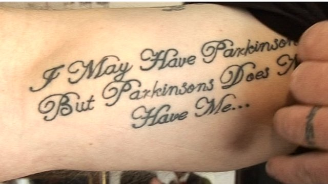 A Parkinson's disease patient's tattoo