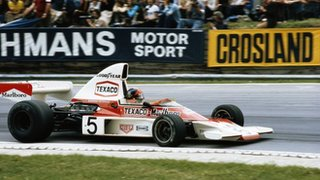Emerson Fittipaldi in the McLaren