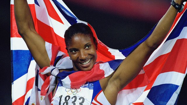 2000 Sydney Olympic heptathlon winner Denise Lewis