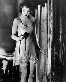 A scene from Blackmail (1929)
