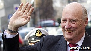 Norwegian King Harald