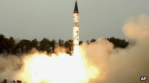 The Agni range of missiles has been fully developed in India