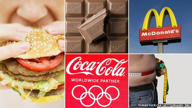 Cadbury's, McDonald's and Coca-Cola brands