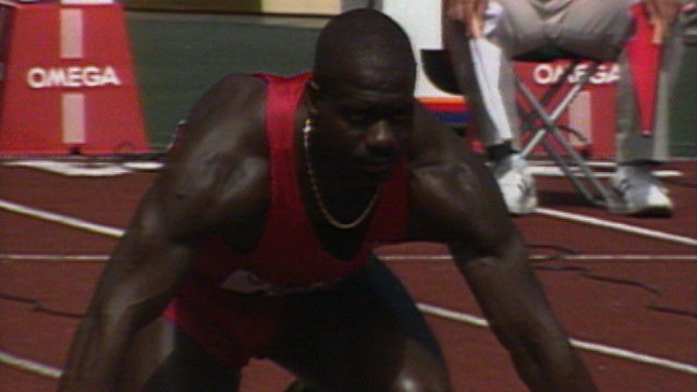 Disgraced Olympic sprinter Ben Johnson