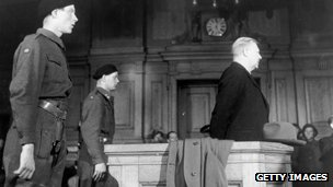 Quisling on trial