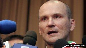 Tomasz Lipiec (file pic Jan 2007)