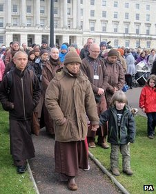 Thich Nhat Hanh at Stormont
