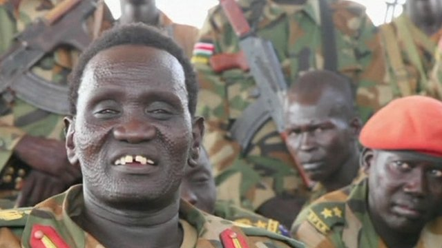 Troops from South Sudan