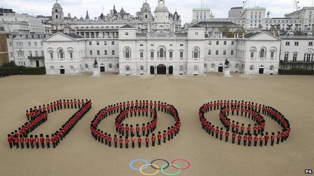 100 days until the Olympics