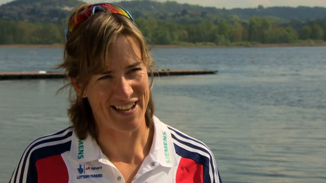 British rower Kath Grainger