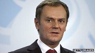 Polish Prime Minister Donald Tusk