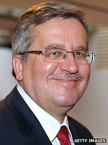 Polish President Komorowski