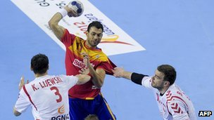 Handball is one of the live Olympic sports that TV viewers will be able to enjoy