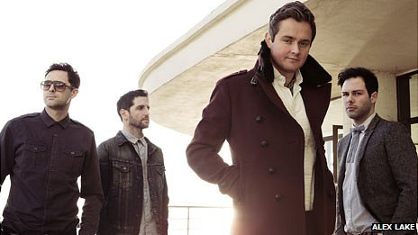 Tim Rice-Oxley, Richard Hughes, Tom Chaplin and Jesse Quin