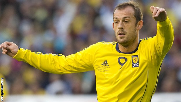 Steven Fletcher is no longer considered by Scotland manager Craig Levein