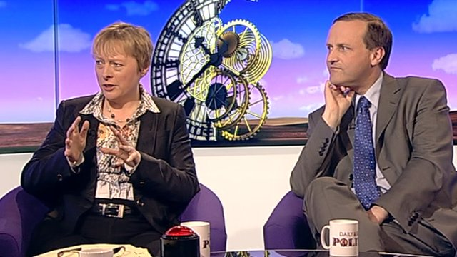 Angela Eagle and Steve Webb