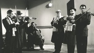 Musicians in 1958 A Night To Remember film