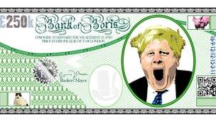 Bank of Boris bank note