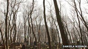 Jewish graveyard (Pic: Daniela Miernik)