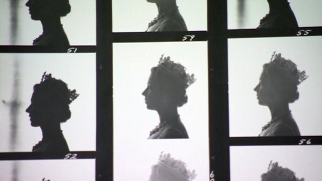 Silhouette of the Queen