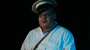 Mark Murphy as Benny Hill