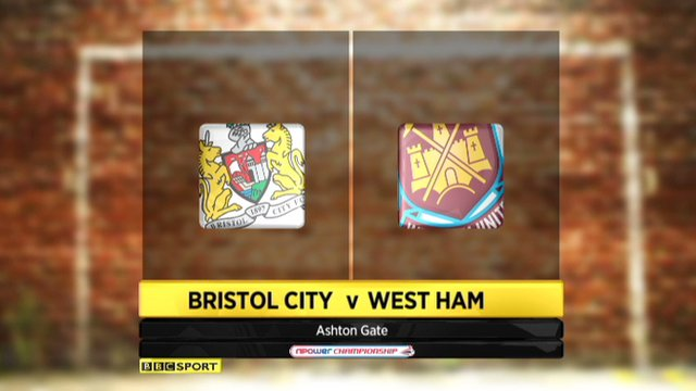 Bristol City 1-1 West Ham