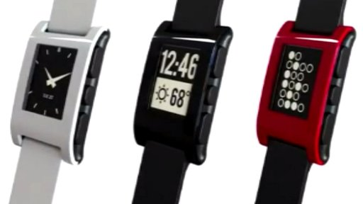 Pebble Smart Watch comes in many colours 