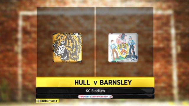 Hull 3-1 Barnsley