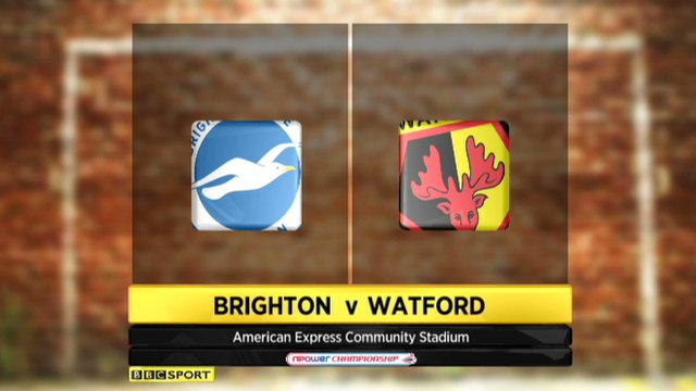 Highlights - Brighton 2-2 Watford
