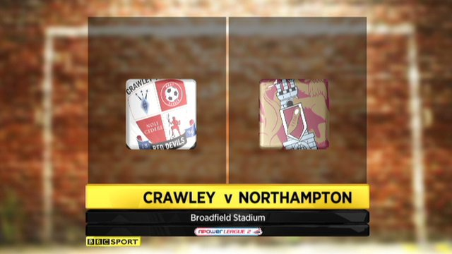 Highlights - Crawley 3-1 Northampton