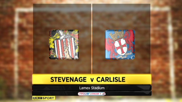 Highlights - Stevenage 1-0 Carlisle