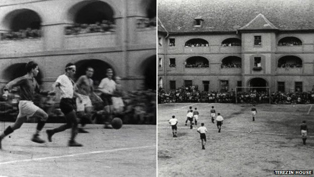 Football matches at Theresienstadt