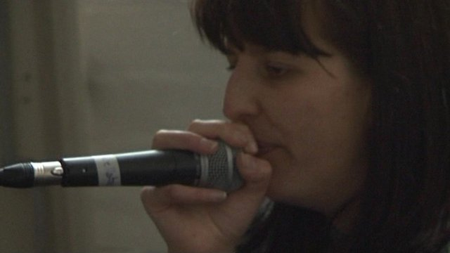 Former female world beatbox champion Bellatrix
