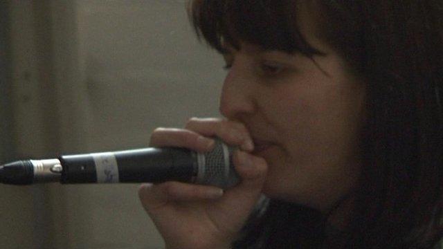 Former female world beatbox champion Bellatrix