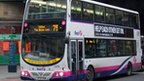 First Group bus in Glasgow 