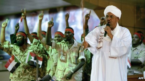 resident Omar al-Bashir said the people of South Sudan needed to be liberated