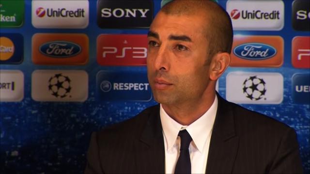 Chelsea interim manager Roberto di Matteo