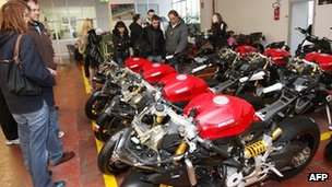 Ducati motorcycles