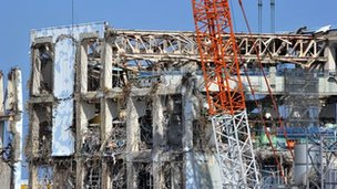 Stricken Tokyo Electric Power Co Fukushima Dai-ichi nuclear power plant