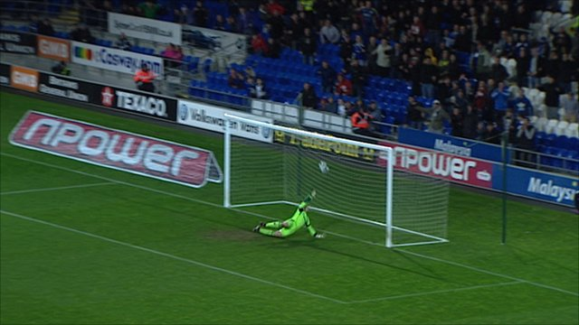 Frank Fielding can't stop Hudson's wonder strike