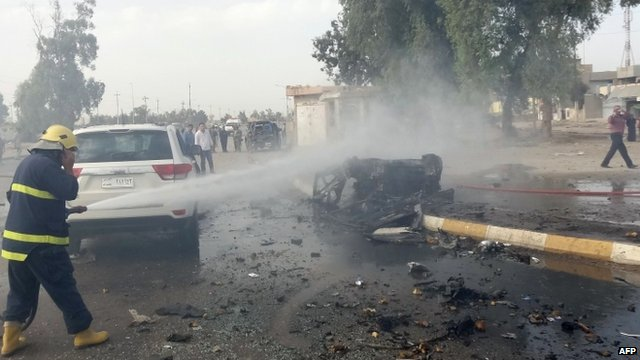 Car bomb in Kirkuk